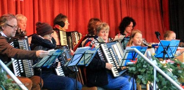 Jugendgruppe Akkordeon Orchester Leer