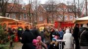 Wiehnachtsmarkt achter'd Waag Leer