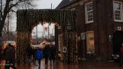 Waage Bogen Weihnachtsmarkt