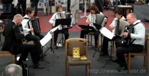 Solistengruppe bei der Ostfrieslandschau 2010