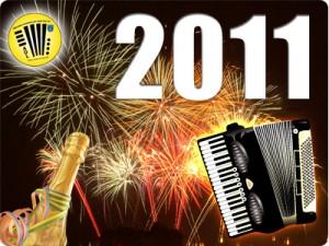 Einen guten Rutsch ins Jahr 2010 wünscht das Akkordeon-Orchester der Stadt Leer e.V.