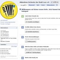 Akkordeon-Orchester Leer bei Facebook