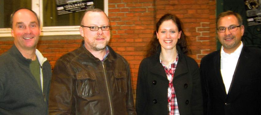 Der neu gewählte Vorstand des Akkordeon-Orchesters der Stadt Leer e.V. 2012